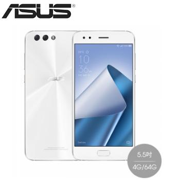 【4G / 64G】ASUS ZenFone4 5.5吋8核心智慧型手機 - 月光白