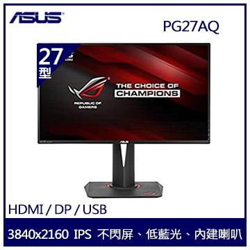 【27型】ASUS ROG Swift PG27AQ 4K電競IPS顯示器