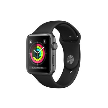 【42mm】Apple Watch S3 太空灰鋁金屬/黑色運動錶帶