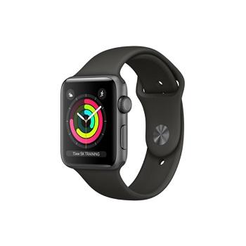 【42mm】Apple Watch S3 太空灰鋁金屬/灰色運動錶帶