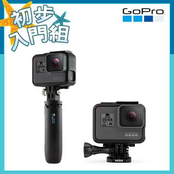 GoProHERO6+Shorty(迷你延長桿+腳架)