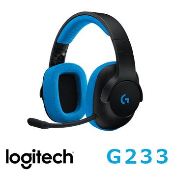 羅技 Logitech G233 PRODIGY 有線遊戲耳機麥克風