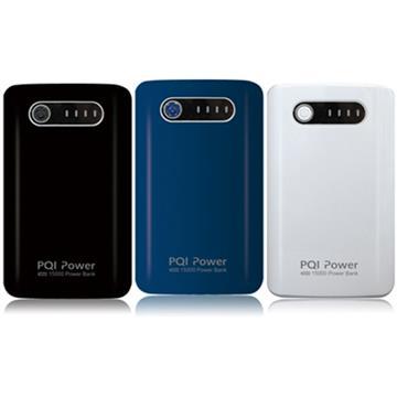 【15000mAh】勁永 PQI Power 行動電源 - 黑色