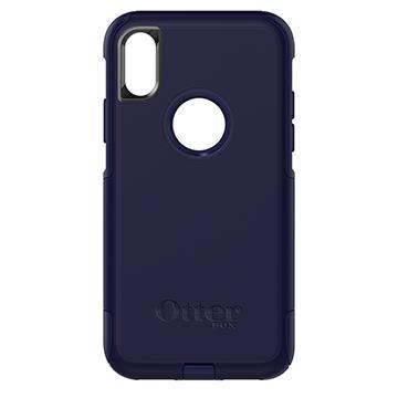 【iPhone X】OtterBox Commuter防摔殼-藍(77-57060)