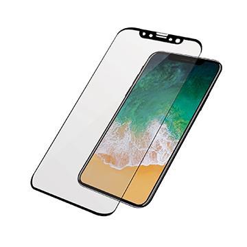 【iPhoneX】PanzerGlass2.5D鋼化玻璃保貼-黑