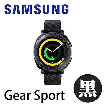 SAMSUNG Gear Sport 智慧運動手錶-鬥士黑