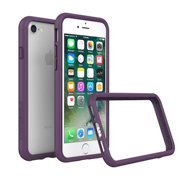 【iPhone 8 / 7】RHINO SHIELD&#160犀牛盾防摔邊框 - 紫色