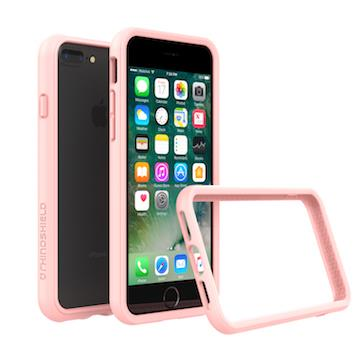 【iPhone8Plus/7Plus】RHINOSHIELD犀牛盾防摔邊框-裸粉色
