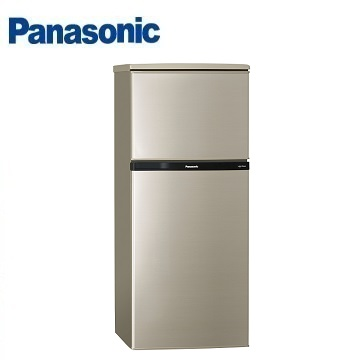 Panasonic 130公升雙門冰箱(NR-B139T-R(亮彩金))