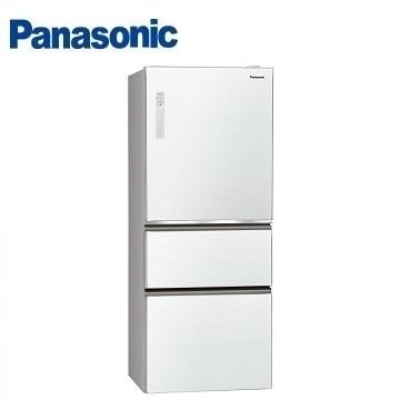 Panasonic 500公升玻璃三門變頻冰箱(NR-C509NHGS-W(翡翠白))
