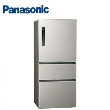 【福利品】Panasonic 610公升三門變頻冰箱(NR-C619HV-S(銀河灰))