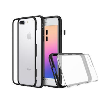 【iPhone8Plus/7Plus】RHINOSHIELD犀牛盾Mod防摔手機殼-黑