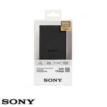 【5000mAh】SONY CP-V5B 行動電源 - 黑色