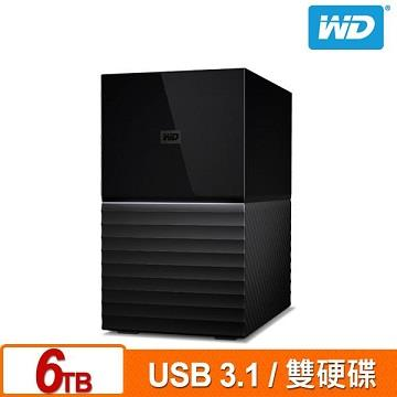 WD 3.5吋 My Book Duo 6TB 雙硬碟儲存