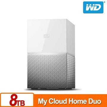 WD 8TB(4TBx2)NAS系統(My Cloud Home Duo)