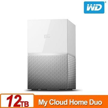 WD 12TB(6TBx2)NAS系統(My Cloud Home Duo)