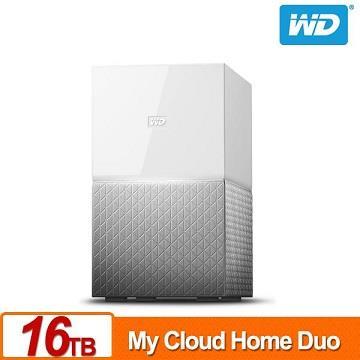 WD 16TB(8TBx2)NAS系統(My Cloud Home Duo)