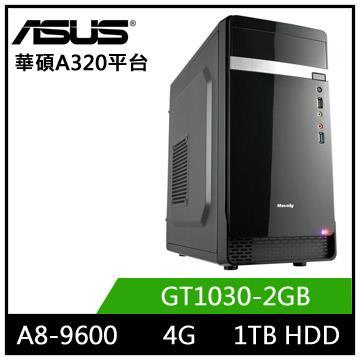 華碩A320平台[星域劍士]A8四核獨顯電玩機