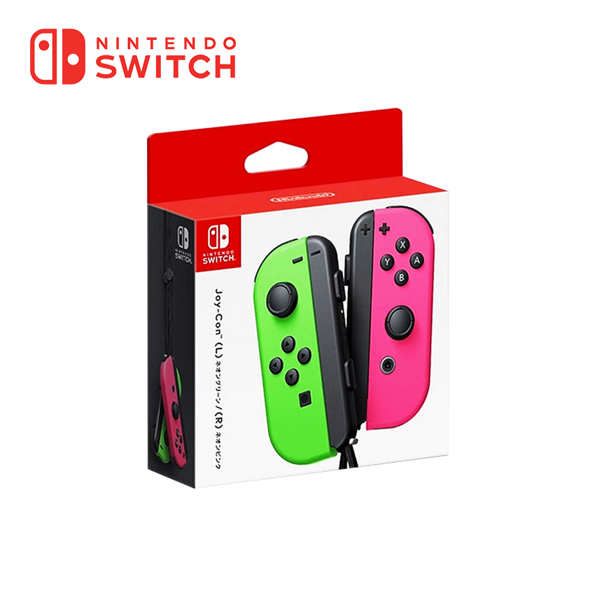 任天堂 Nintendo Switch Joy-con(左右手套裝) - 粉&綠