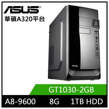 華碩A320平台[星域騎士]A8四核獨顯電玩機