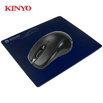 【滑鼠鼠墊組合包】KINYO KM-511 USB光學滑鼠+光學滑鼠墊(3組) MP-22+