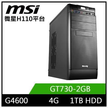 微星平台【星炎劍士】雙核GT730獨顯電玩機(星炎劍士)
