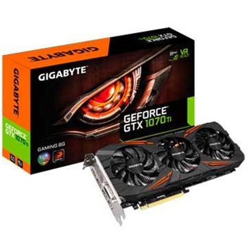 【送AGI 240G】技嘉GeForce GTX 1070Ti GAMING 8G 顯示卡