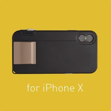 【iPhoneX】Bitplay照相手機殼-黑色