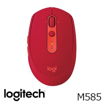 羅技 Logitech M585無線滑鼠 - 寶石紅