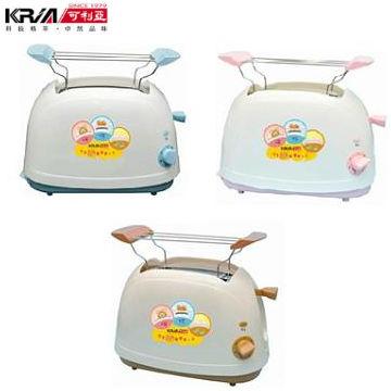 可利亞烘烤二用笑臉麵包機(粉/藍/咖)(KR-8001/KR-8002/KR-8003)