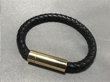 【S】Dococo 數位手環5mm單圈 - 黑色