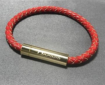 【S】Dococo 數位手環5mm單圈 - 紅色
