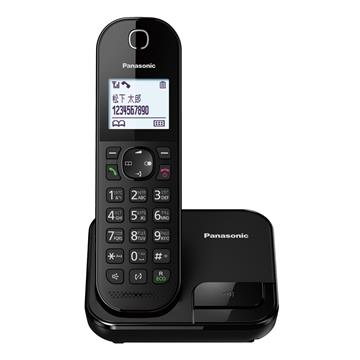 Panasonic中文輸入數位無線電話(黑)