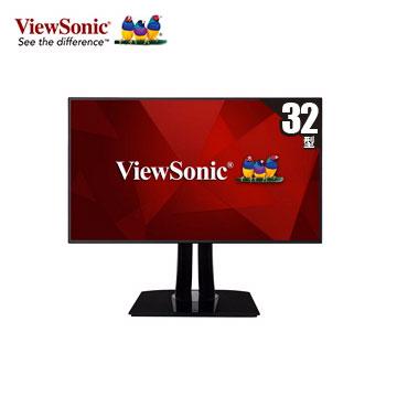 【32型】ViewSonic VP3268專業型UHD螢幕