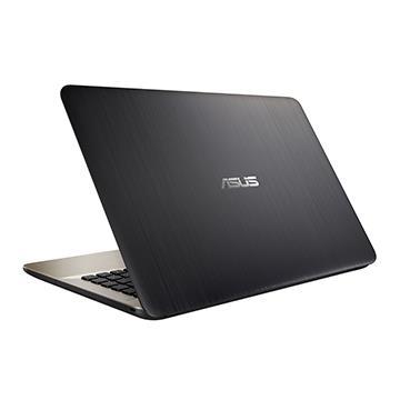 ASUS X441NA-巧克力黑 14吋筆電(N4200/4G/WIN10/光碟機)