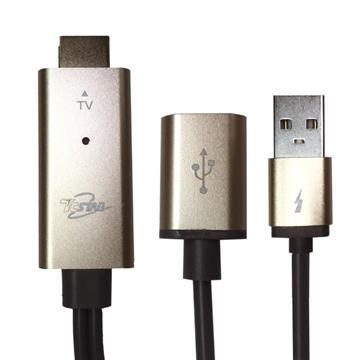 T.C.STAR HDMI高畫質影音傳輸線3M-金(TCW-HD300GD)