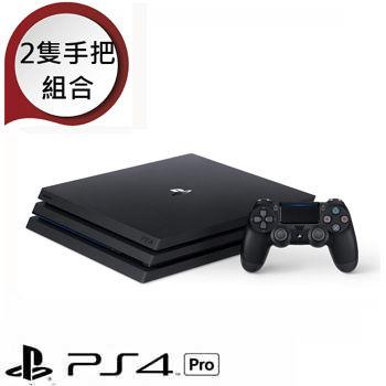 「少量限時包3」【1TB】PS4Pro主機-極致黑
