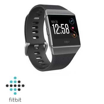 Fitbit ionic 智慧手錶 - 煙燻灰