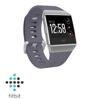 Fitbit ionic 智慧手錶 - 科技白