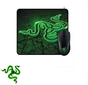 【速度版】Razer 地獄狂蛇 2000dpi電競滑鼠 + 滑鼠墊組