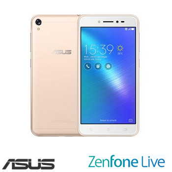 「APP專屬」【2G / 16G】ASUS ZenFone Live 5吋四核心智慧型手機 - 流沙金