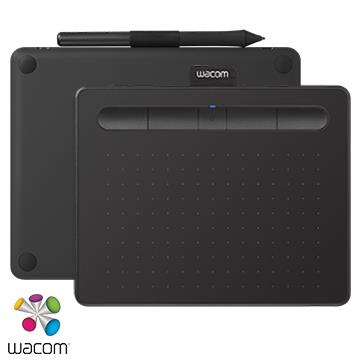 【M】Wacom Intuos Comfort Plus 藍牙繪圖板 - 黑色