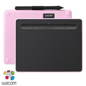 【M】WacomIntuosComfortPlus藍牙繪圖板-粉色