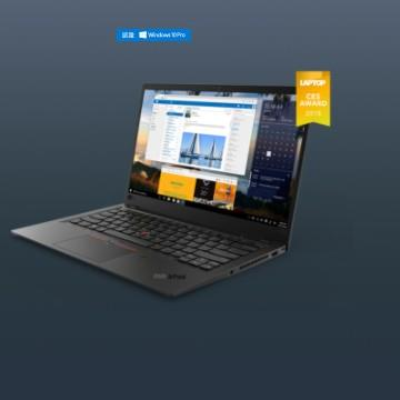 LENOVO TP X1C 6TH 14吋筆電(i7-8550U/HD620/16G/512G SSD)