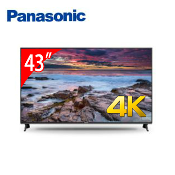 Panasonic 43型 六原色4K智慧聯網顯示器(TH-43FX600W(視175744))