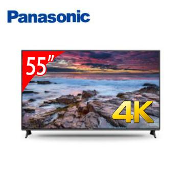Panasonic 55型六原色4K智慧聯網顯示器(含電視視訊盒)