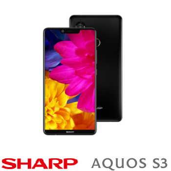 【4G / 64G】SHARP AQUOS S3 6吋八核心全螢幕智慧型手機 - 鎏金黑