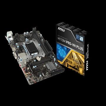 【送AGI 480G】微星 H110M PRO-VH PLUS主機板