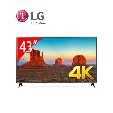 LG 43型廣角4K IPS智慧連網電視(43UK6320PWE)