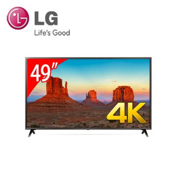LG 49型廣角4K IPS智慧連網電視